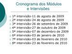 cronograma dos m dulos e intervis es19