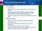 document file review1