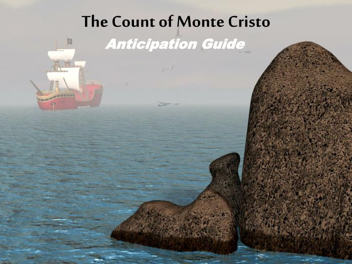 the count of monte cristo n.