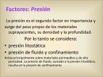 factores presi n