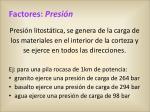 factores presi n1
