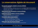 la conservazione digitale dei documenti2