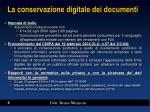 la conservazione digitale dei documenti3