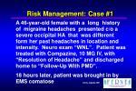 risk management case 1