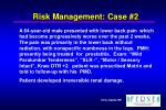 risk management case 2