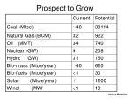 prospect to grow