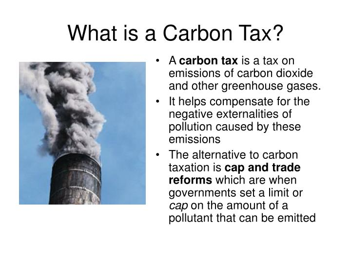 What is a Carbon Tax?