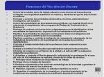 funciones del vice director docente1