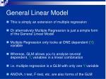 general linear model1
