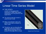 linear time series model