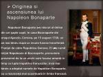 originea si ascensiunea lui napoleon bonaparte