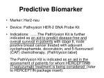 predictive biomarker