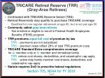 tricare retired reserve trr gray area retirees