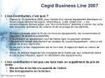 cegid business line 2007