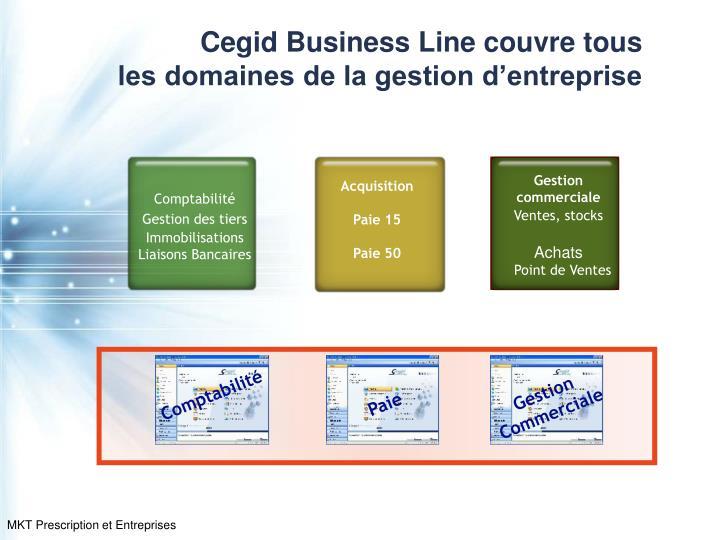 Cegid Business Line couvre tous