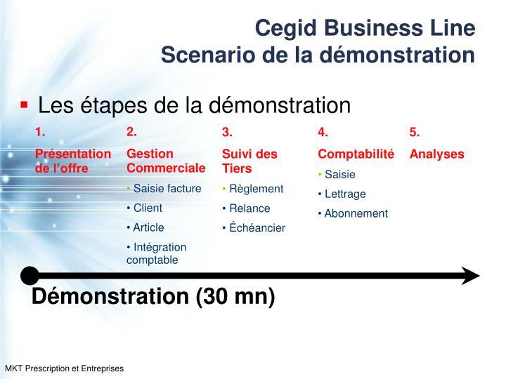 Cegid business line scenario de la d monstration