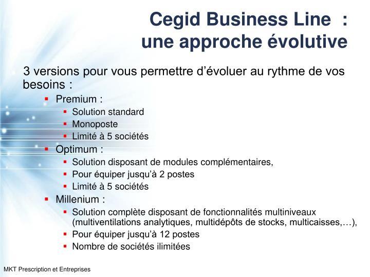 Cegid Business Line  :