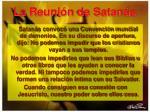 la reuni n de satan s