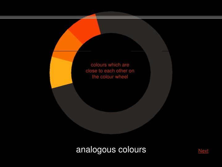 colours which are