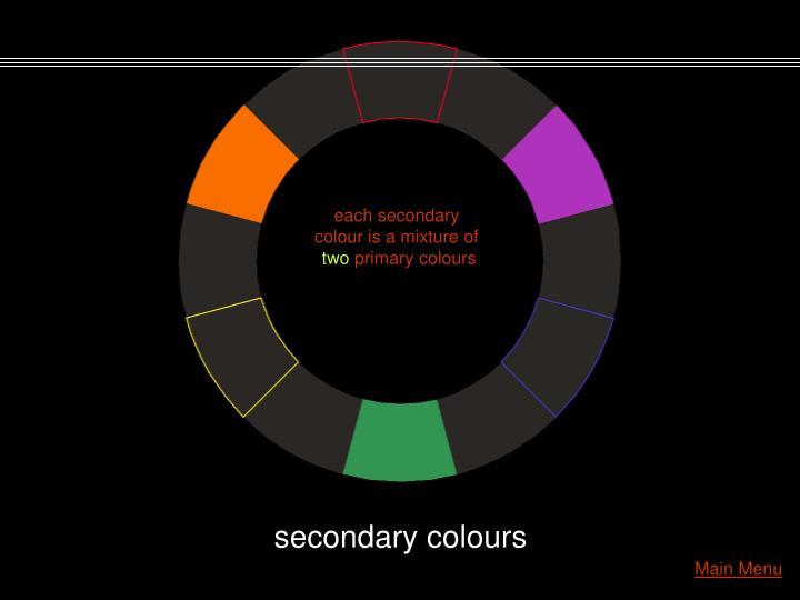 each secondary