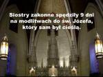 siostry zakonne sp dzi y 9 dni na modlitwach do w j zefa kt ry sam by cie l
