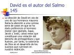 david es el autor del salmo 1451