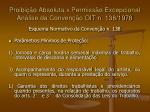 proibi o absoluta x permiss o excepcional an lise da conven o oit n 138 197818