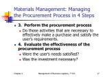 materials management managing the procurement process in 4 steps2