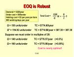 eoq is robust