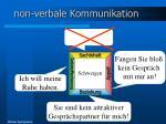 non verbale kommunikation1