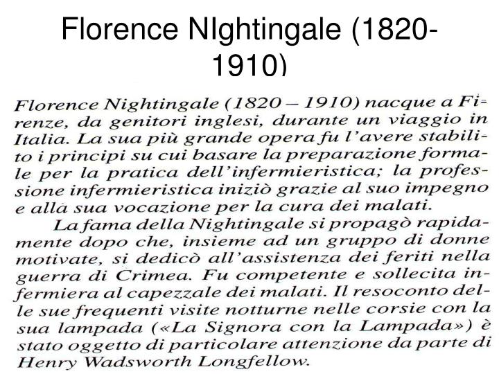 florence nightingale 1820 1910 n.
