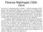 florence nightingale 1820 1910