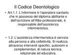 il codice deontologico1