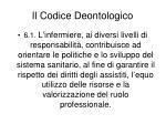 il codice deontologico13