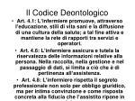 il codice deontologico6