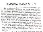 il modello teorico di f n1