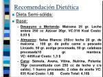 recomendaci n diet tica