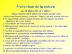 protection de la nature1