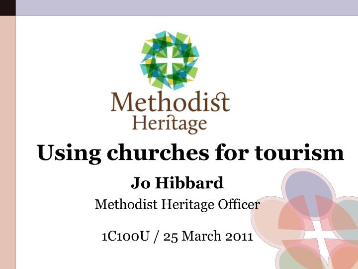 using churches for tourism n.