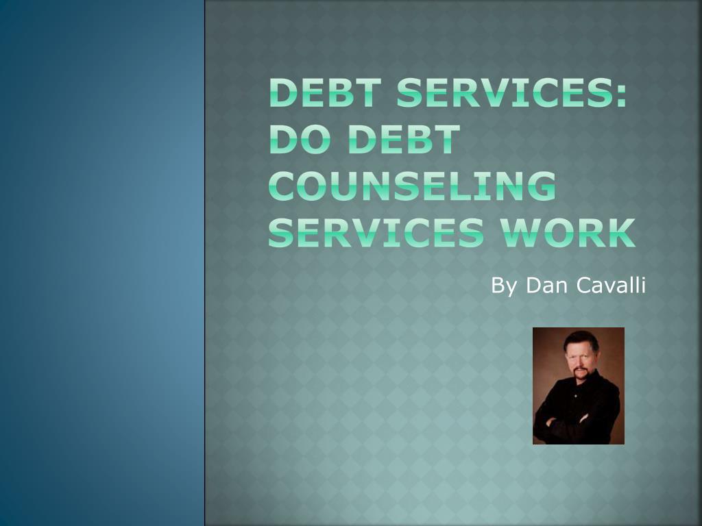 debt services do debt counseling s ervices work l.