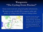 wangaratta the cycling event precinct