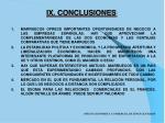 ix conclusiones