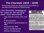 the chartists 1839 1848