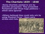 the chartists 1839 18481