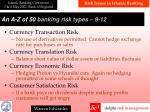 a n a z of 50 banking risk types 9 12