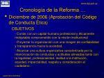 cronolog a de la reforma5