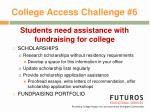 college access challenge 6