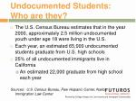 undocumented students who are they