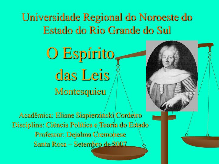 universidade regional do noroeste do estado do rio grande do sul n.