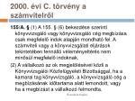 2000 vi c t rv ny a sz mvitelr l18